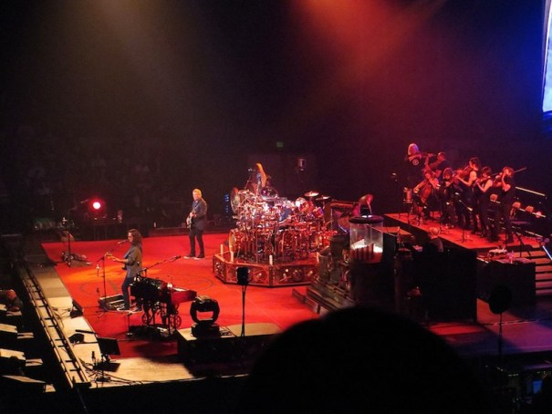 Rush's Clockwork Angels Tour with strings
