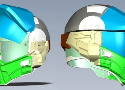 Halo Master Chief Motorcycle Helmet 02 main