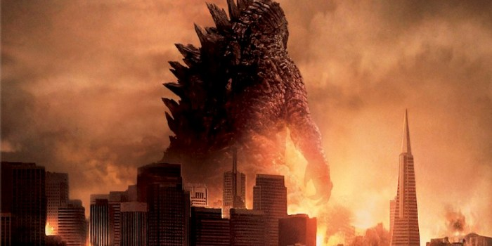Godzilla Blu-ray and DVD main