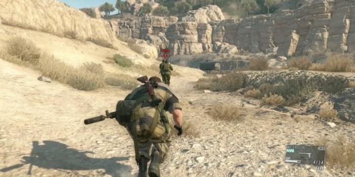 Metal Gear Solid V The Phantom Pain main