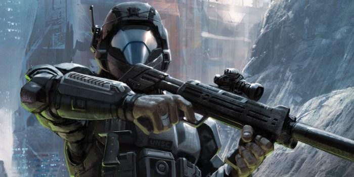 Halo New Blood Matt Forbeck main