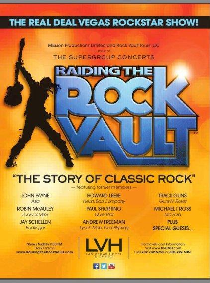 Raiding the Rock Vault 2013 - Las Vegas Hotel & Casino!