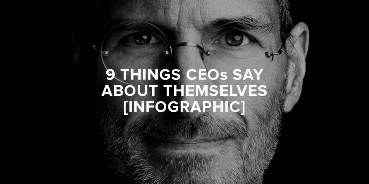 We Asked 100 CEOs to Describe Themselves and Here's What They Said