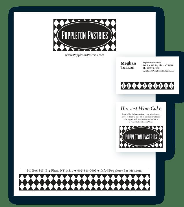 Poppleton Pastries Stationery