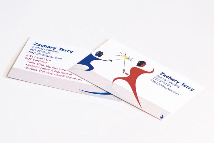 Zach Terry Business Card 1