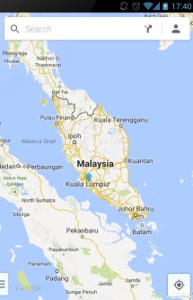 malesian kartta google Google Maps with Navigation for Android now in Malaysia malesian kartta google