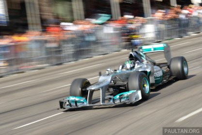 Petronas Motorsports Demo Run 50