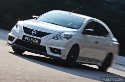 Nissan Almera NISMO Performance Package 1