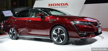 Honda Clarity fuel cell TMS-8