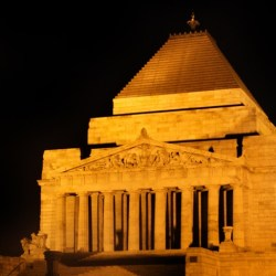 ANZAC Day remembered at the Melbourne shrine