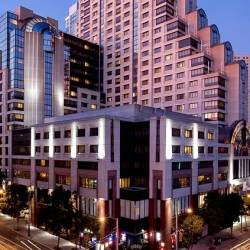 located near the Moscone Centre is the Marriott Marquis hotel