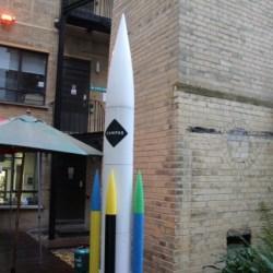 Google-campus-london-courtyard-rocket