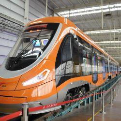 chinese hydrogen powered tram