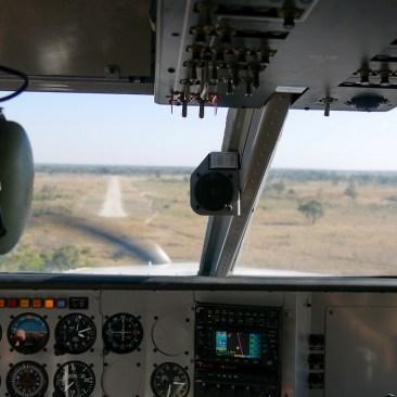 Landeanflug mit freier Bahn
