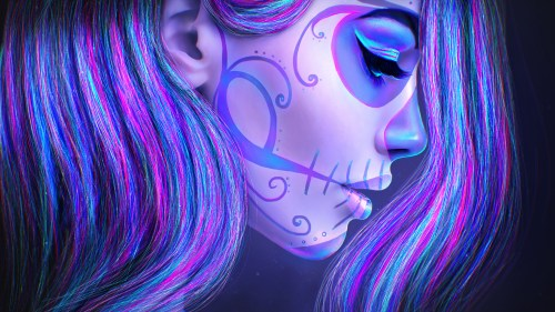 Medium Of Sugar Skull Wallpaper