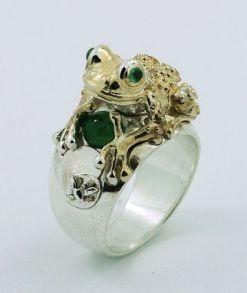 Frog Ring $490+ (1)