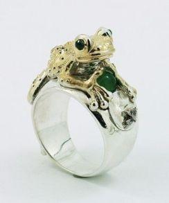 Frog Ring $490+ (3)