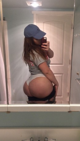 thick curvy pawg selfie