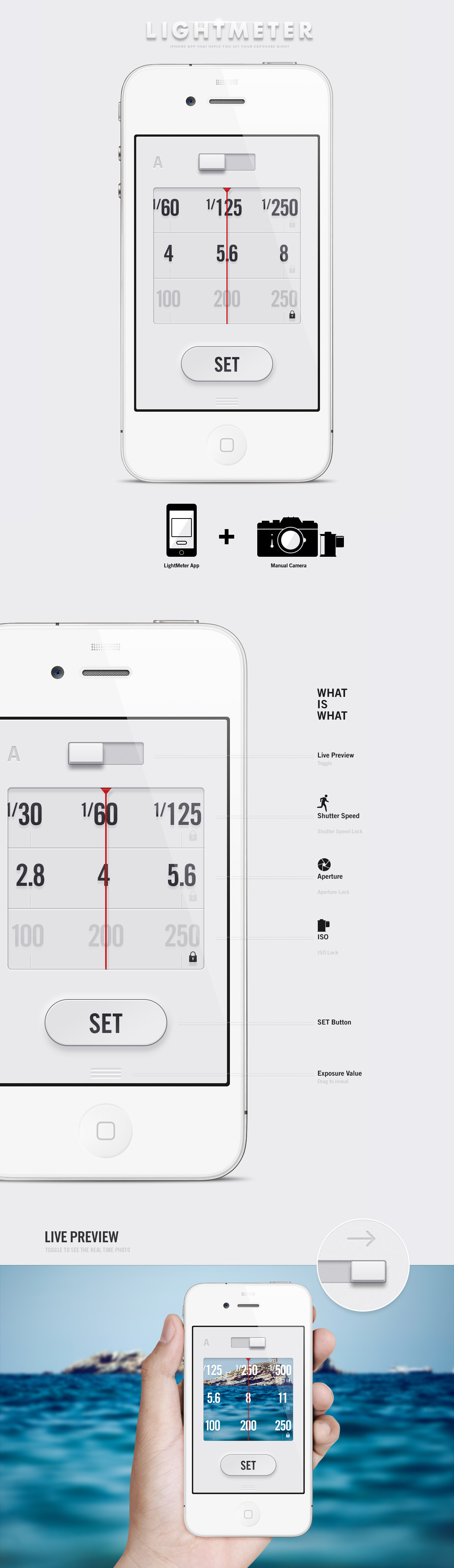 Snazzy App Under Lightmeter App Anton Repponen Museum Allows You To See Live Preview Design Artifacts Photo As Well As Balanceit Over dpreview Light Meter App