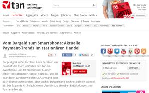 Vom Bargeld zum Smartphone: Aktuelle Payment-Trends im stationären Handel » t3n Magazin