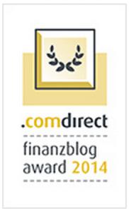 comdirect finanzblog award – Bitte gebt mir eure Stimme
