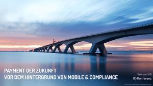Vortrag: Payment der Zukunft vor dem Hintergrund von Mobile & Compliance