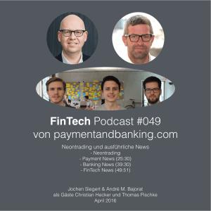 FinTech Podcast #049 – Neontrading und Deutsche Bank Outing