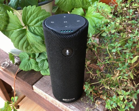 Amazon Tap, mit dem Sprachassistent Alexa