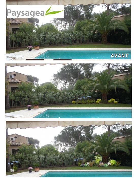 amnagement paysager piscine - Amenagement Bord De Piscine