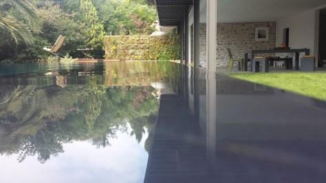 aménagement paysager autour piscine