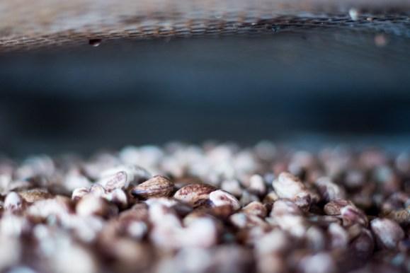 Noix de cajou passant au four - http://paysansdavenir.com/plongee-au-coeur-de-la-filiere-noix-de-cajou-de-binh-phuoc-vietnam/