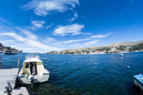 Copacabana, lac Titicaca