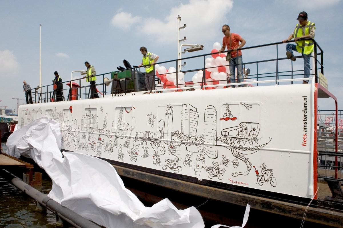 Project: Fietsparkeerpont Amsterdam CS