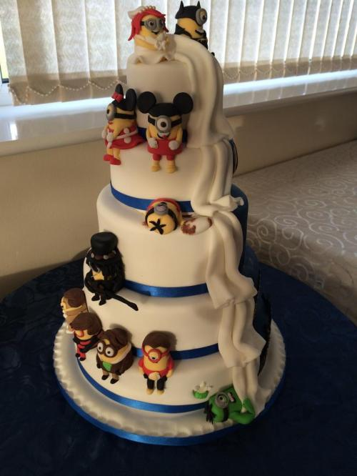 Medium Of Batman Wedding Cake