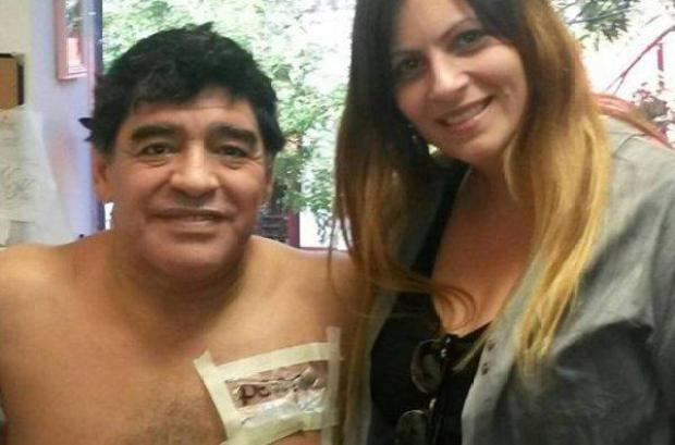 B6JjoNoCYAAktIW Diego Maradona gets bitch tattooed on his chest for girlfriend Rocio Oliva [Pictures]
