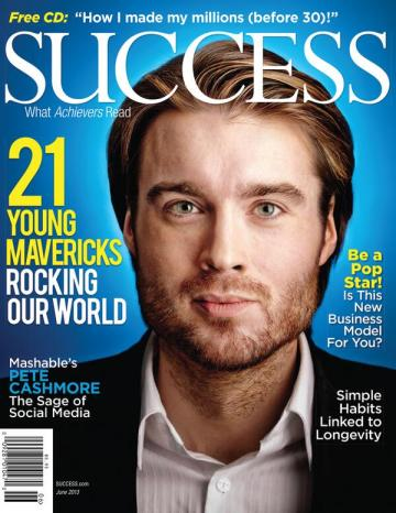 Pete Cashmore on SUCCESS magazine