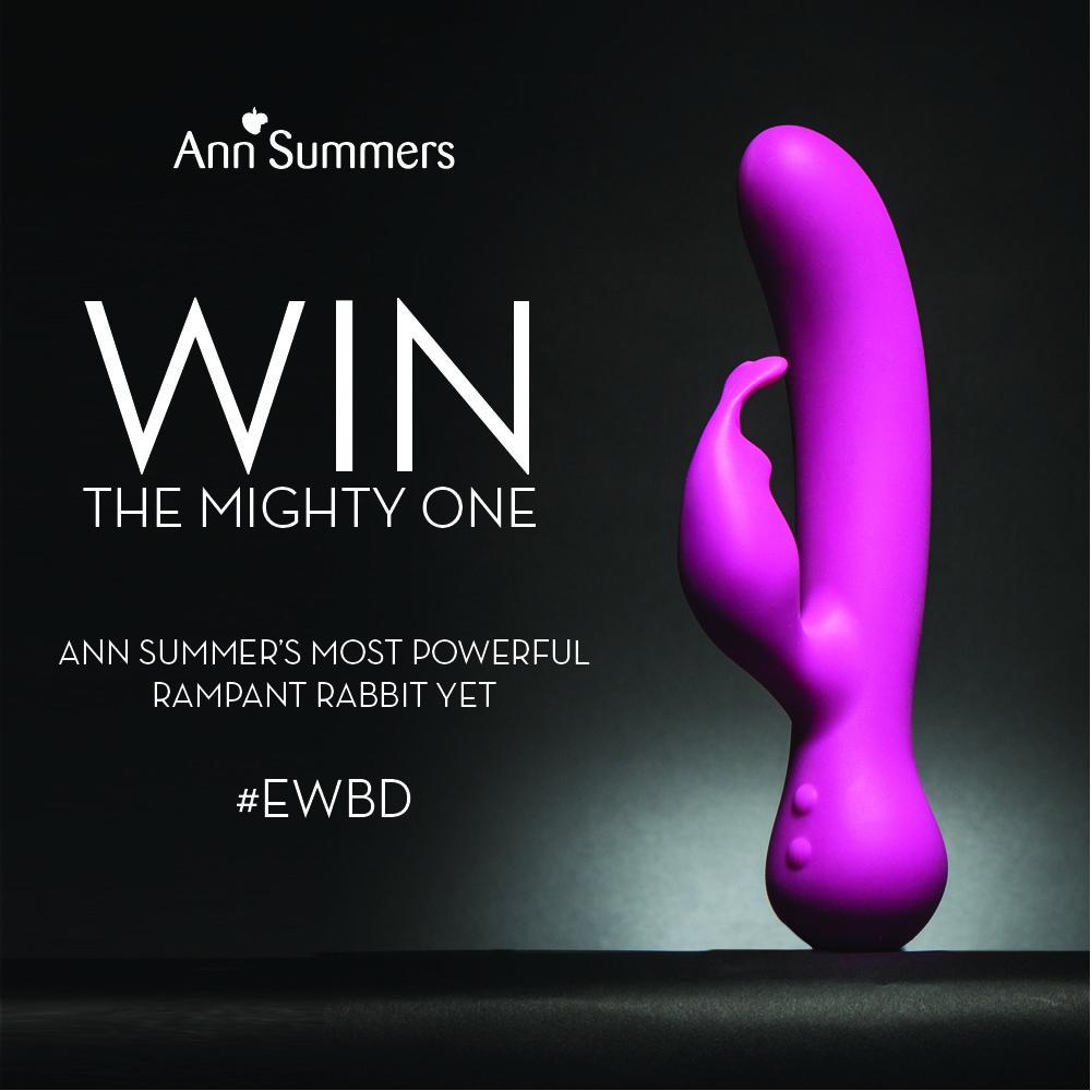 Ann Summers On Twitter Win The Mighty One Rampant Rabbit