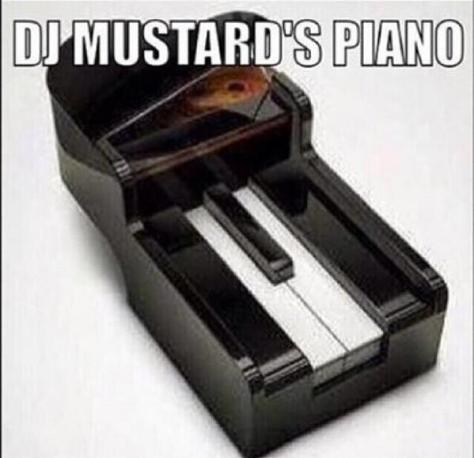 DJ Mustard's two-key piano