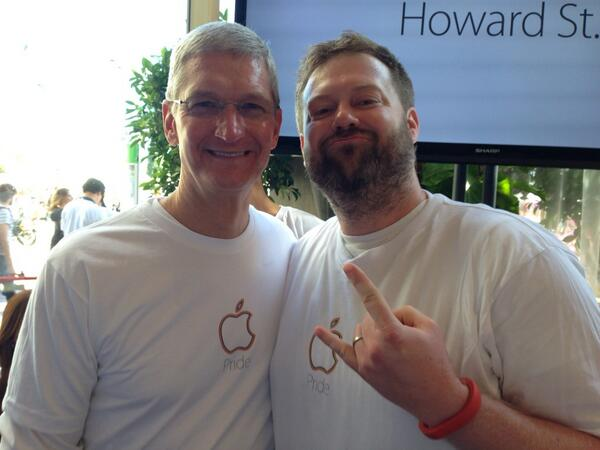 Tim Cook at Apple Pride