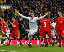 Video: Liverpool vs Swansea City