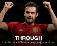 Video: Manchester United vs Rostov