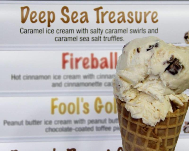 Large Of Fireball Ice Cream