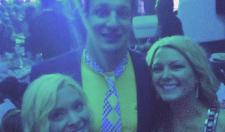 Gronk Tries His Best To Fit In With His Kentucky Derby Wardrobe