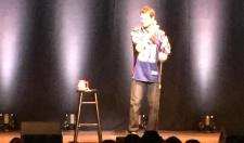 Daniel Tosh Came Out On Stage Wearing An Aaron Hernandez Jersey In Boston