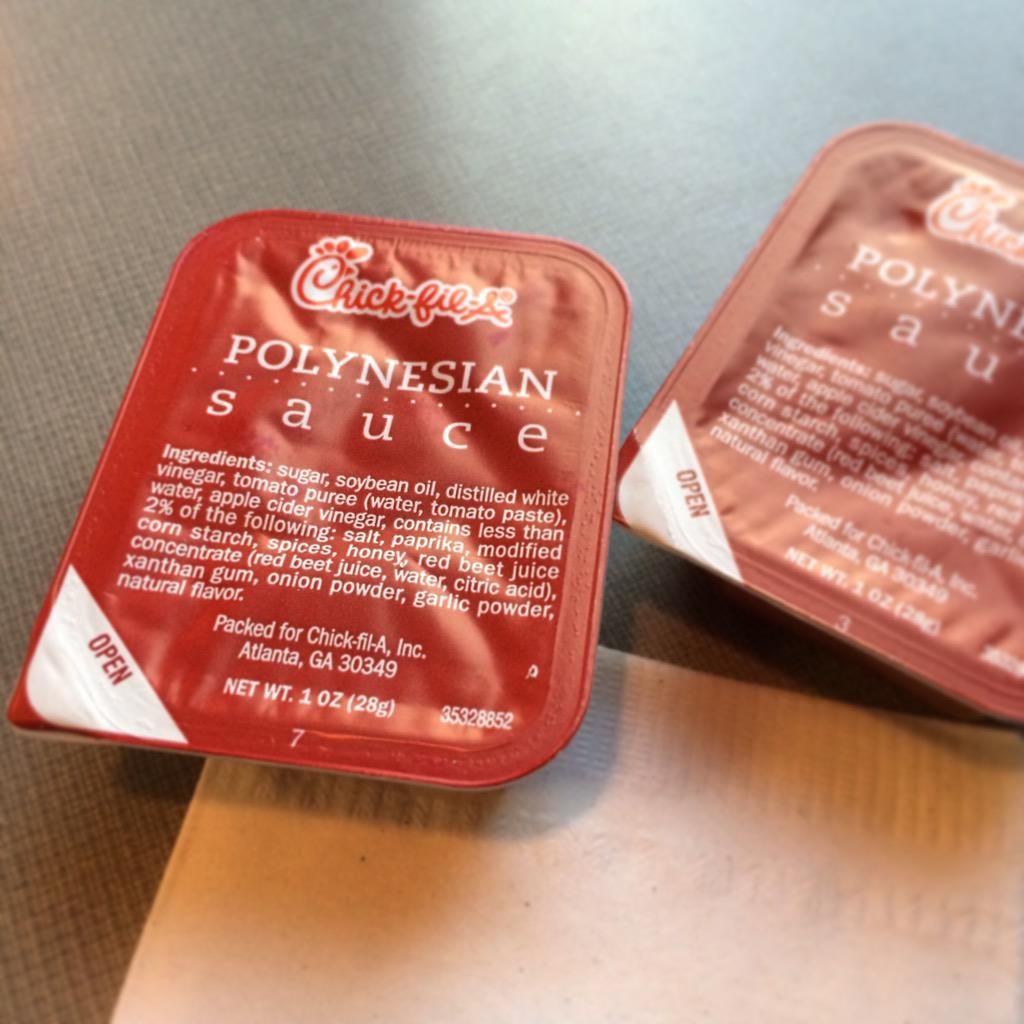 Fullsize Of Chick Fil A Polynesian Sauce