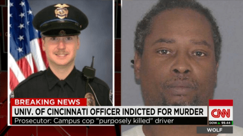 photo of murder victim Samuel Dubose vs murder suspect Ray Tensing a police officer