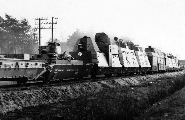A Nazi Armored Train