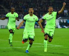 Video: Borussia M gladbach vs Manchester City