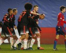 Video: CSKA Moskva vs Manchester United