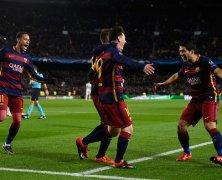 Video: Barcelona vs AS Roma